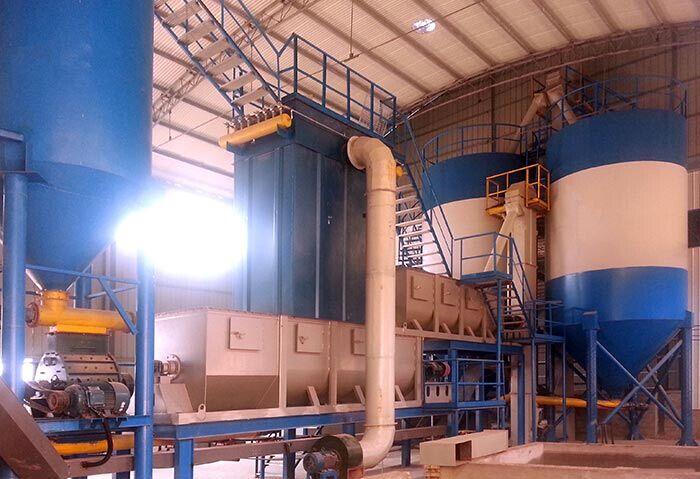 15吨氢氧化钙生产线现场
